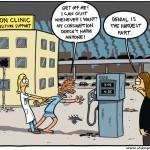 Petroholic mankind