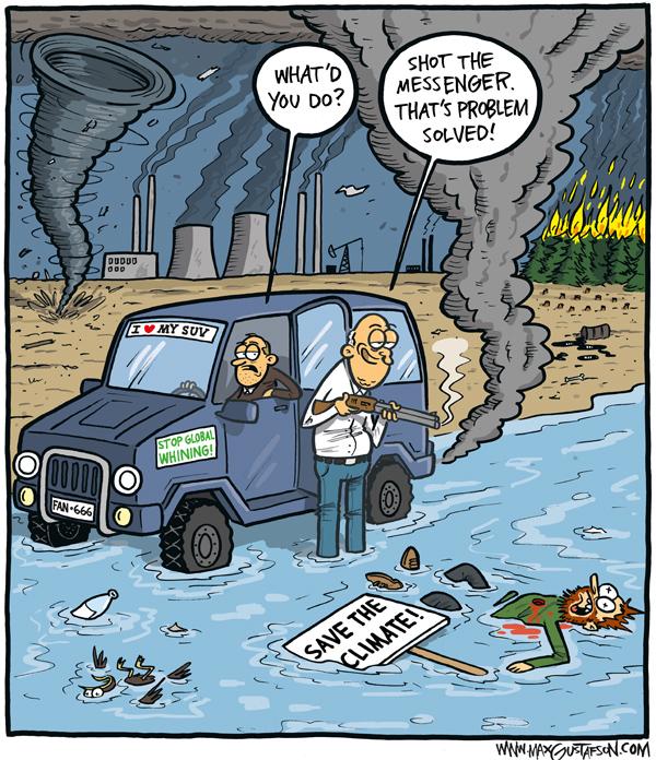 Cartoon by Max Gustafson